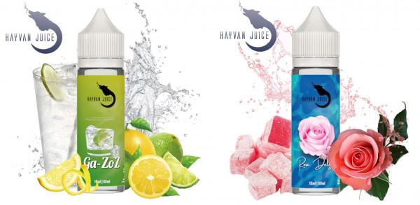 Hayvan Juice Ga-Zoz,Rose Delight, Cok Güzel Aroma 10ml