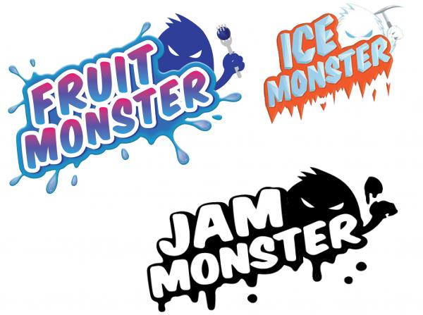 JAM ICE FRUIT Monster alle Sorten 100ml Blueberry Mango